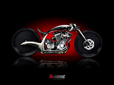 Windows 7 Theme: Akrapovic Morsus