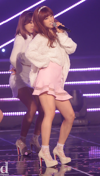 A Pink Chorong Mr Chu Live