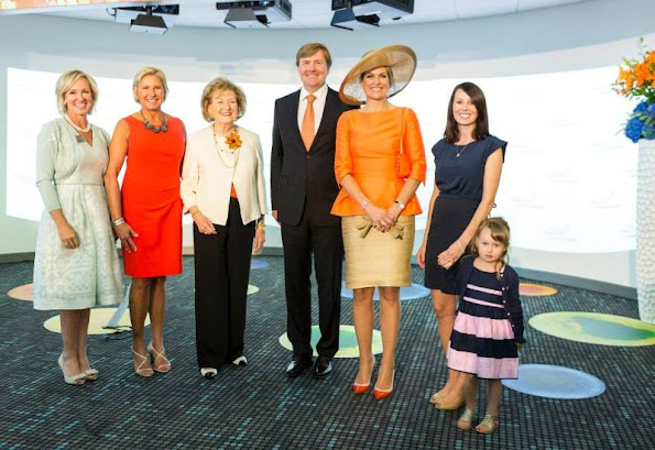 King Willem-Alexander and Queen Maxima of The Netherlands visited Spectrum Health Helen Devos Children's Hospital in Grand Rapids.