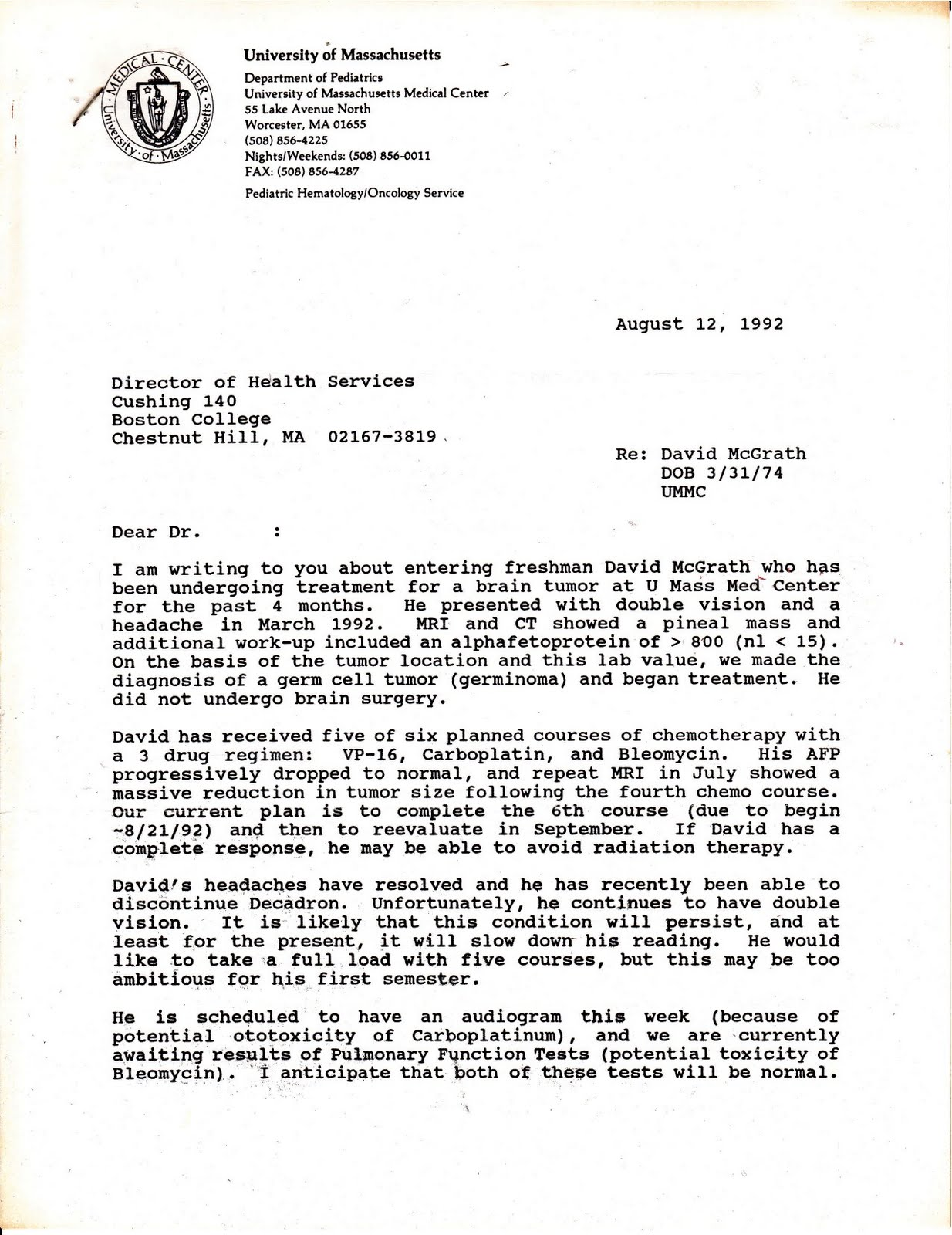 letter from health department ideas windaction ny health