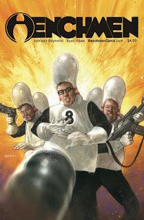 Indie Comic Henchmen #1 Cover Art