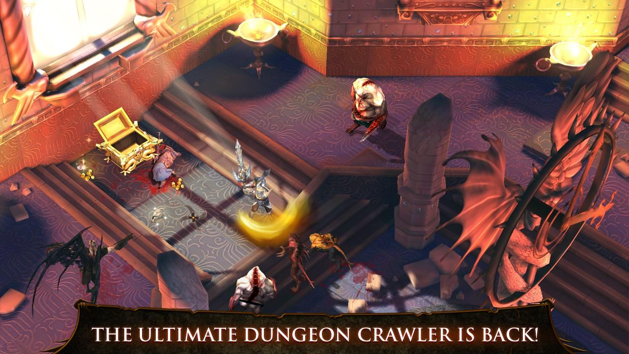 Dungeon Hunter 4 1.3.0 MOD APK+DATA(Unlimited Money+Offline)