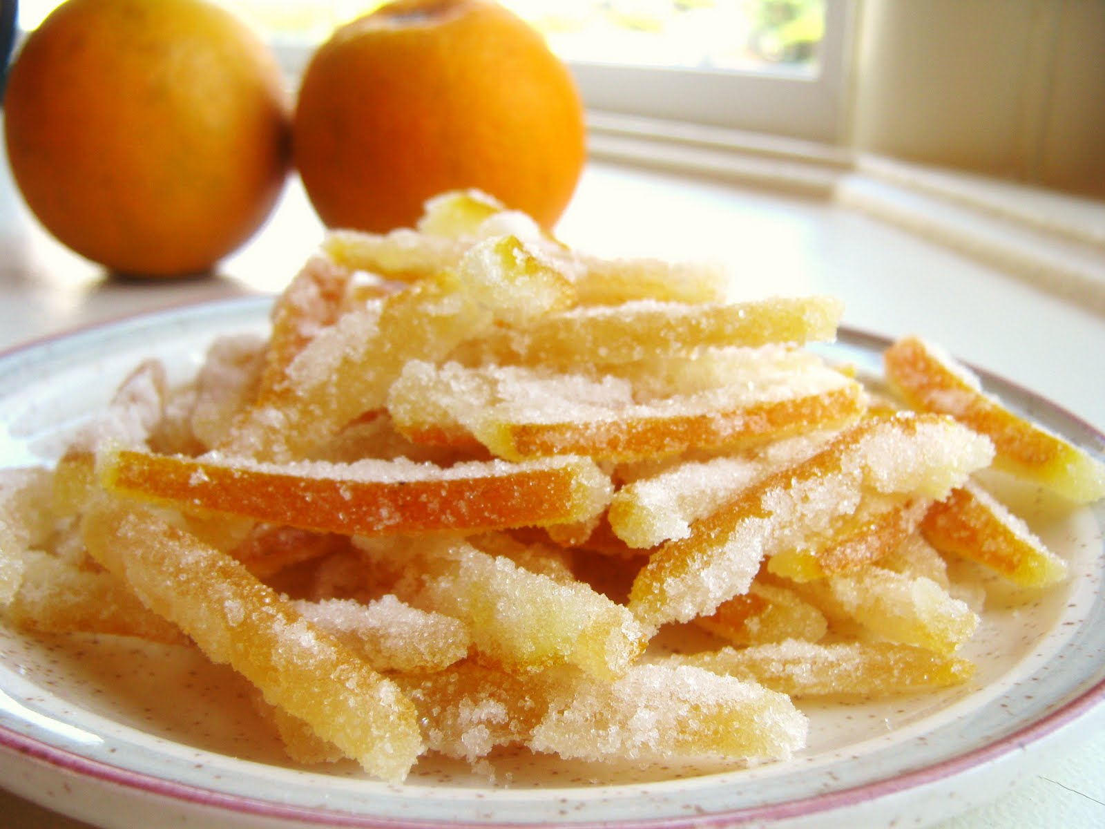 Baking and Mistaking: Candied Orange Peel