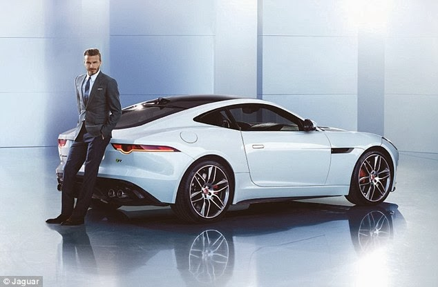David Beckham and Jaguar