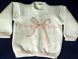 casaco de bebé , aberto atrás