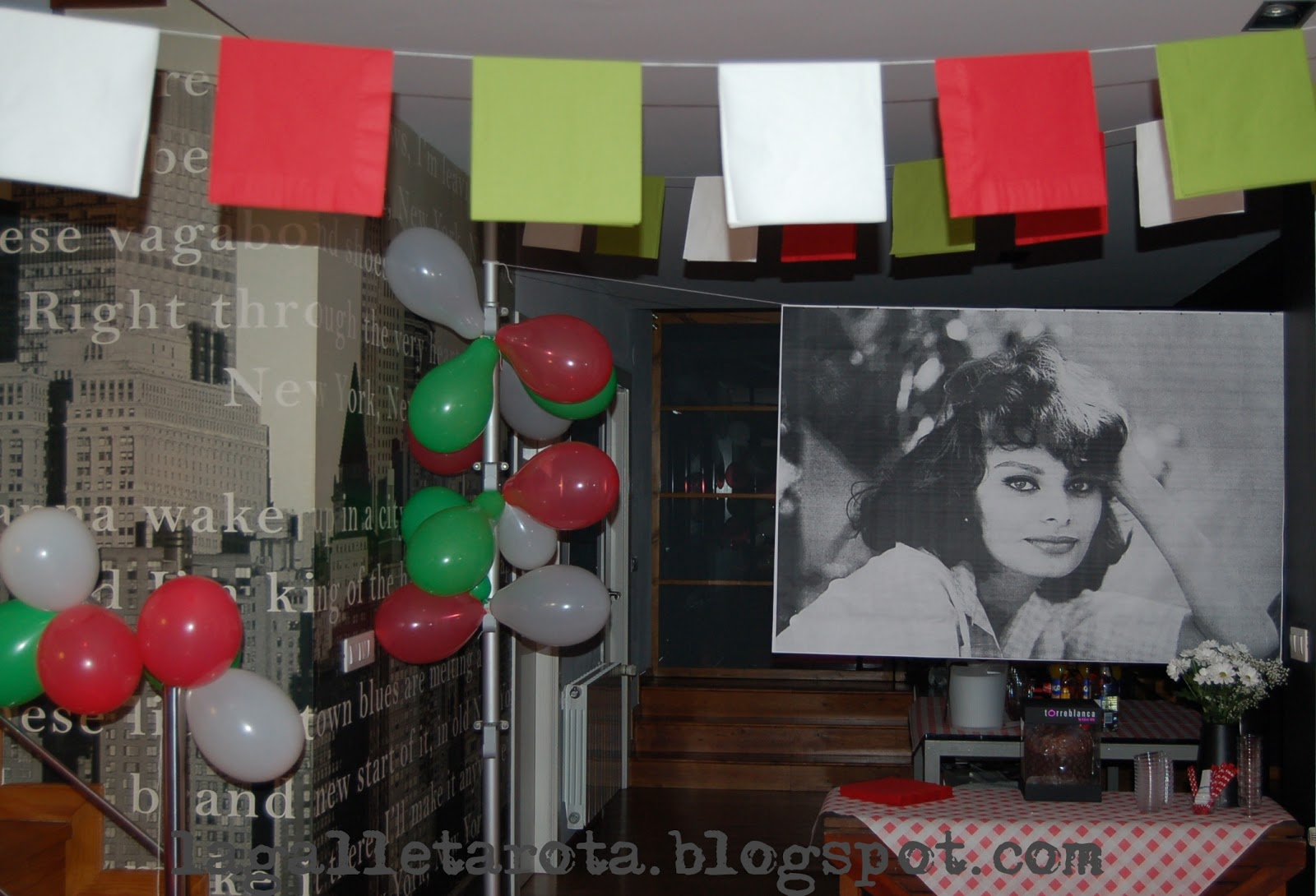 La galleta rota cena di compleanno alla trattoria di for Decoracion italiana