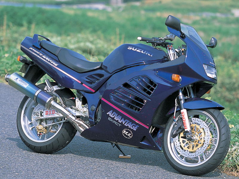 Racing Caf U00e8  Suzuki Rf 900 By Advantage