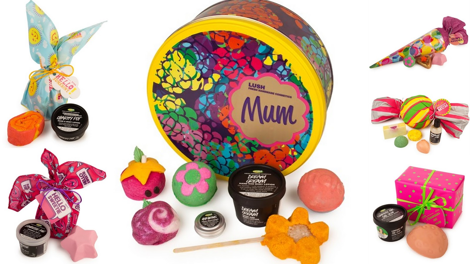 Lush's Mother's Day Range 2014, gifts