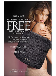 Victorias Secret Tote Offer