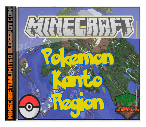 Pokemon Kanto Region Map