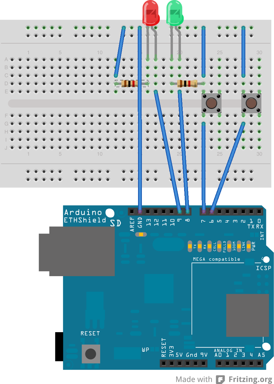 AN ANDROID INTERFACE FOR AN ARDUINO