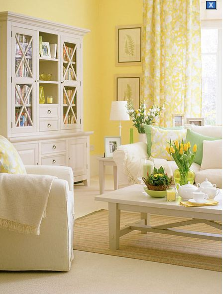 The olde barn a breath of spring for Laura ashley living room ideas