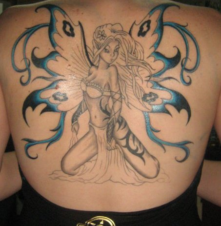 Fairy Tattoos on 25 Magically Fairy Tattoos   Creativefan