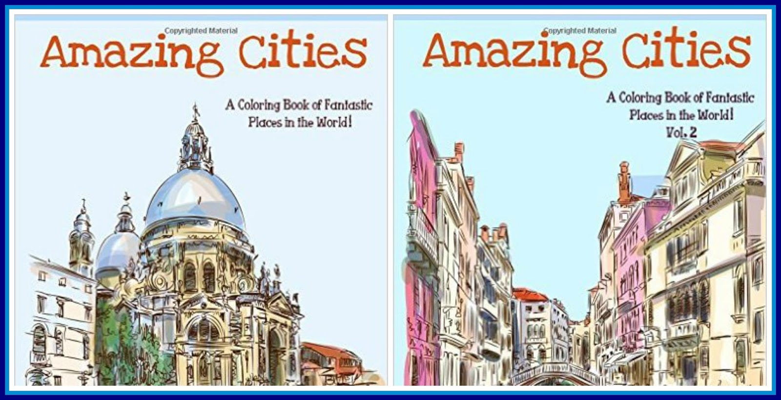 Amazing Cities Volume 1 And 2