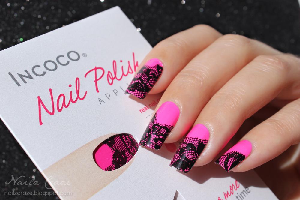 Incoco Nail Polish Strips in A Floral Affair - Review - Nailz Craze