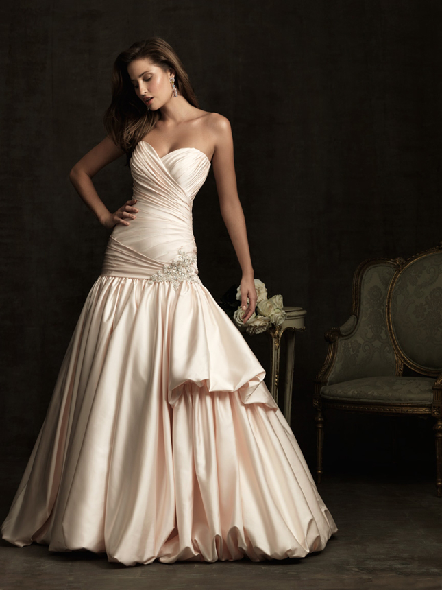 of other blush wedding gowns on their Spring 2012 Collectionwell