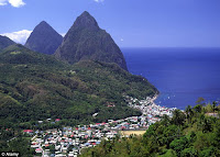 St Lucia romantic getaways