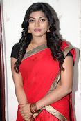 Sowmya glamorous half saree photos-thumbnail-19