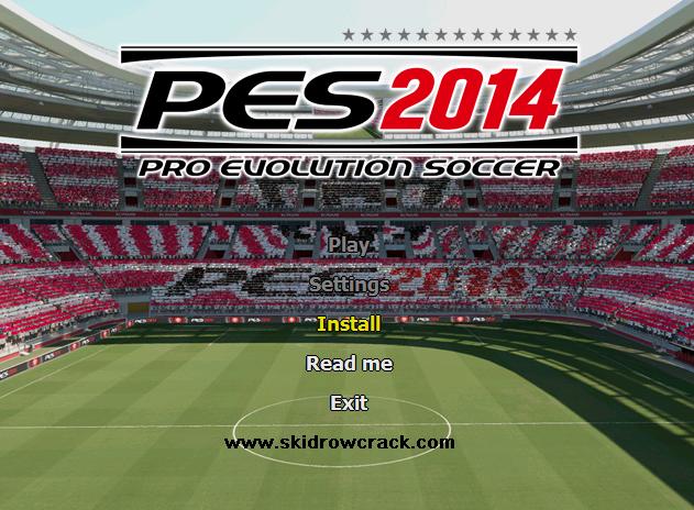 Pro Evolution Soccer 2014 Installation