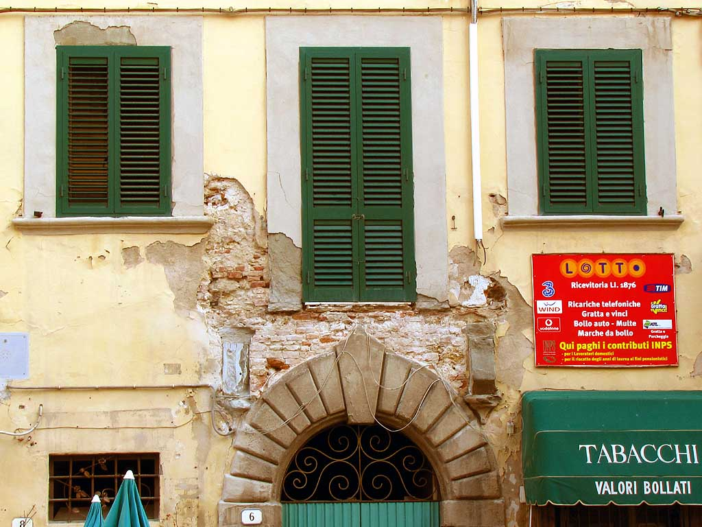 Vanished balcony, Livorno