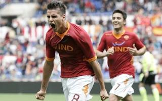 أهداف مباراة روما ونافورا 5-2 في الدوري الايطالي 1-4-2012