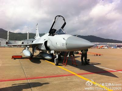 JF-17 Thunder in Zhuhai Airshow 2012