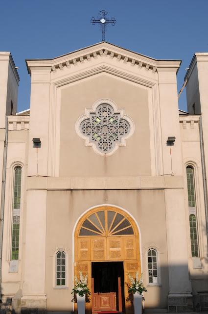 Biserica Greaca din Galati - Intrare