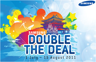 Samsung 'Double The Deal' Contest