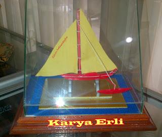 Image Bambu Karya Erli Miniatur Kapal Nelayan Pulau Bintan Download