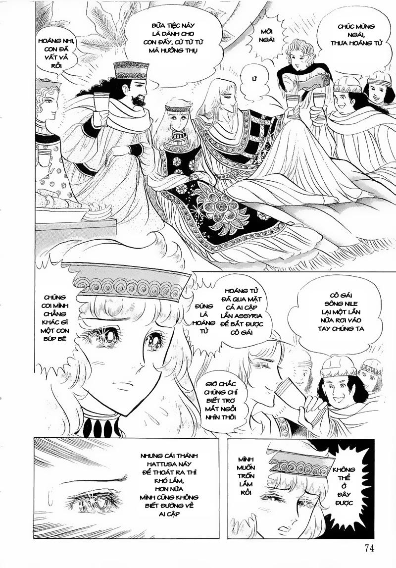 Nữ Hoàng Ai Cập-Ouke no Monshou chap 52 Trang 9 - Mangak.info