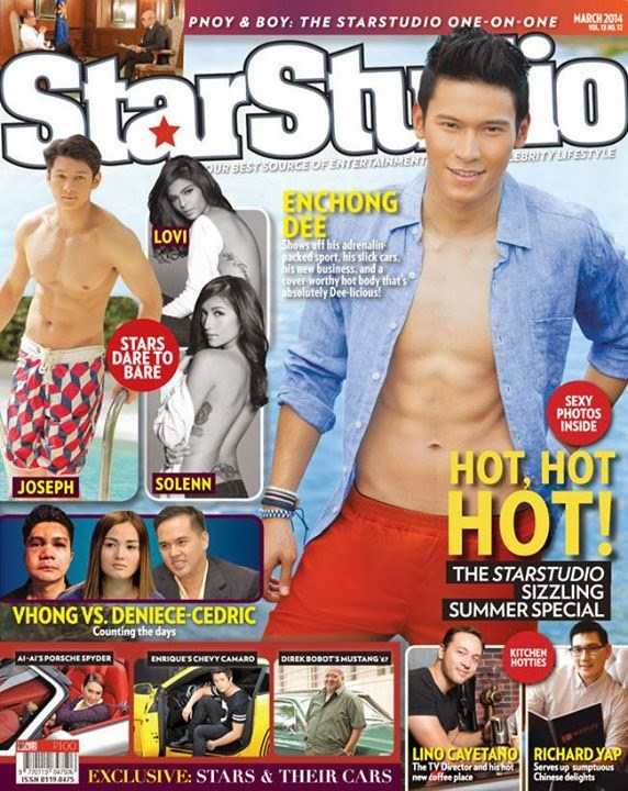 Enchong Dee, Joseph Marco Uber Hot on StarStudio Magazine March 2014 Cover