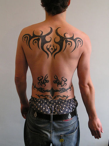 designs on back tribal the tattoo Back Tattoo Tribal Tribal Tattoos, Amazing Upper Lettering: Designs,