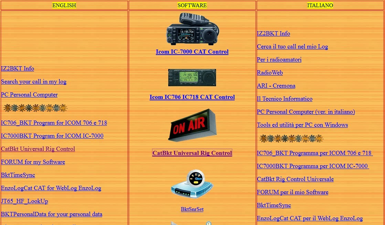 Air radiorama ottimo sito italiano di iz2bkt for Singapore airlines sito italiano