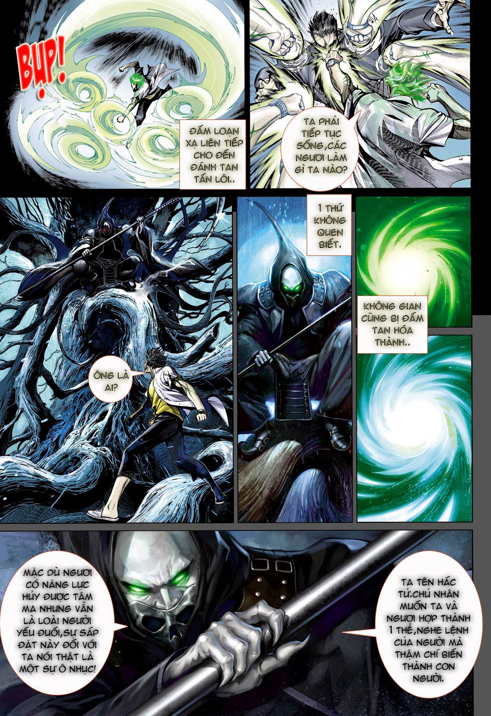 Thần Binh 4 chap 23 - Trang 9