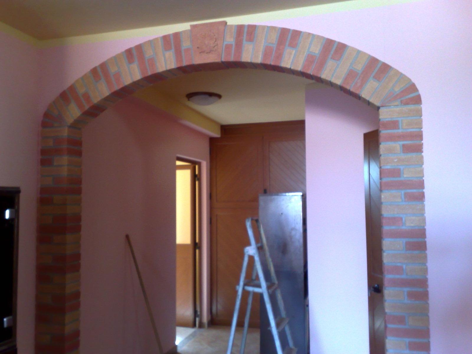 Decorazioni pilastri interni pilastri interni rivestiti - Finti camini decorativi ...