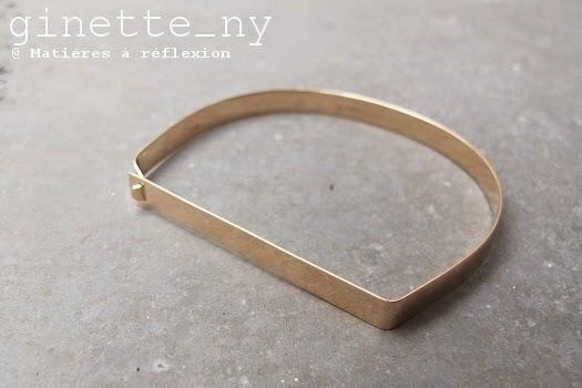Ginette NY bracelet Baguette