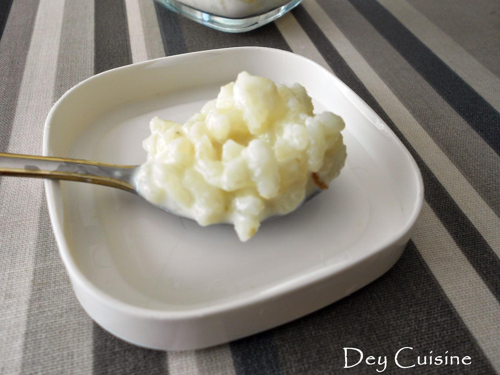 Dey cuisine riz au lait la vanille la multid lices - Riz au lait maison ...