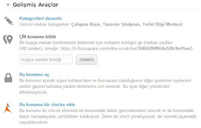 foursquare mekanlar