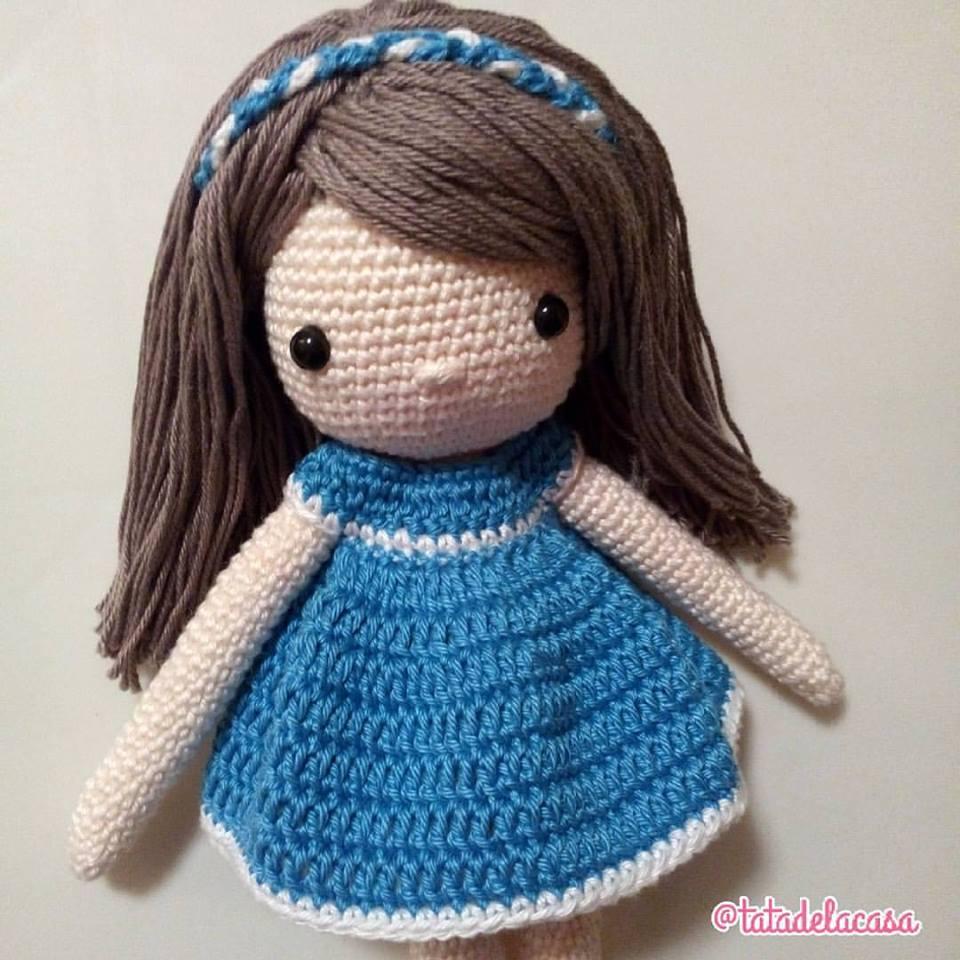 Tatadelacasa vestido mu eca a crochet - Ideas para hacer ganchillo ...