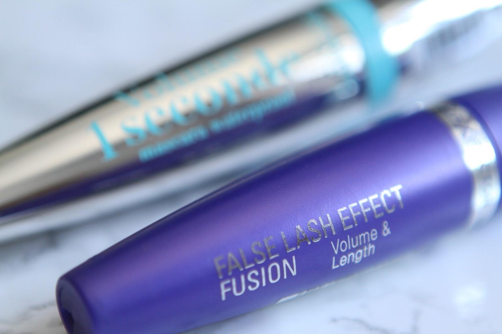 max factor false lash and bourjois 1 second volume