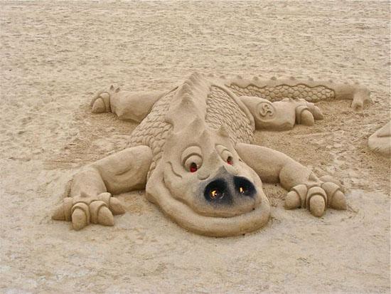 Esculturas de areia, www.publicitario13.com.br
