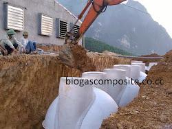 thi công bể biogas composite