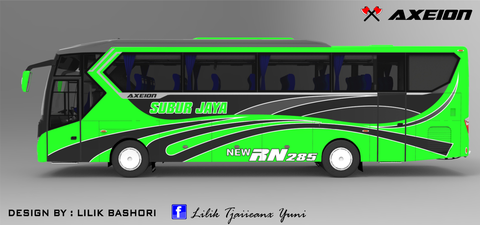 Design bus Axeion side