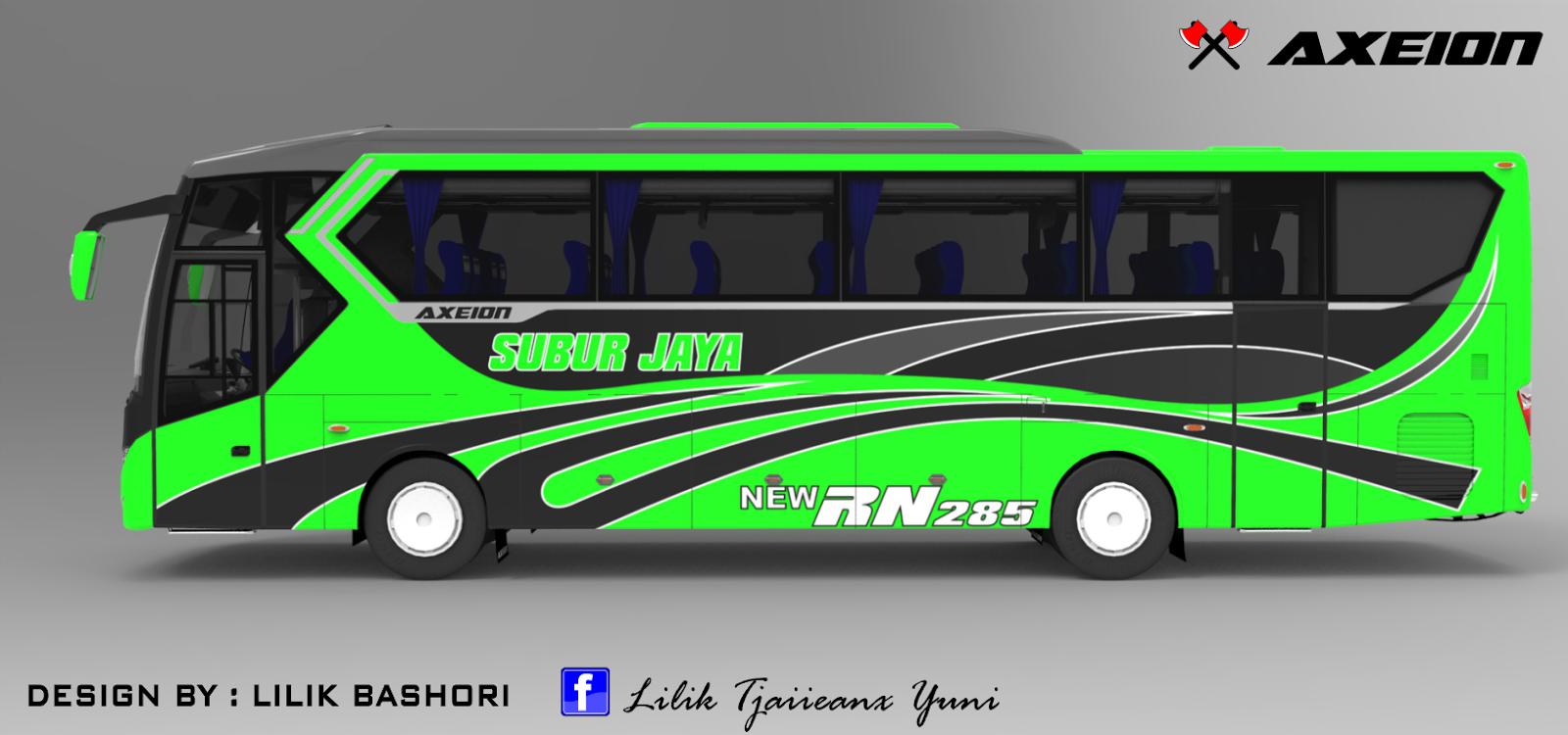 Design bus Axeion side