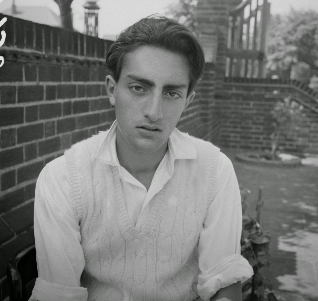 India Cricketer Mansoor Ali Khan Pataudi in 1960
