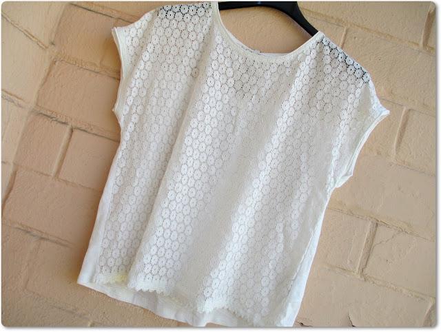 Camiseta blanca de Stradivarius - Haul de Rebajas