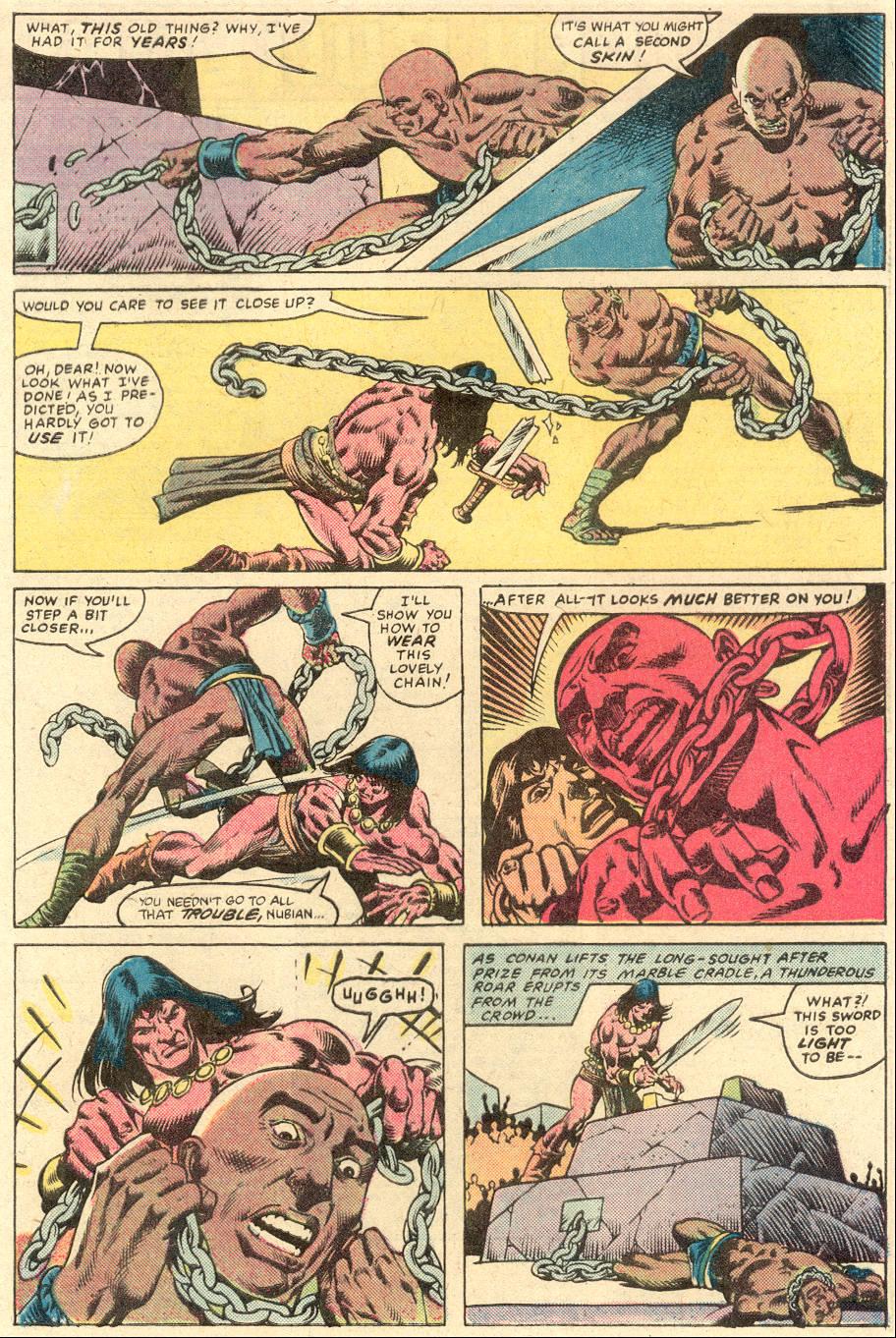 Conan the Barbarian (1970) Issue #132 #144 - English 23