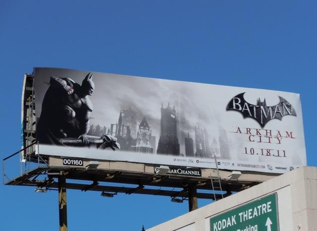 Batman Arkham City billboard