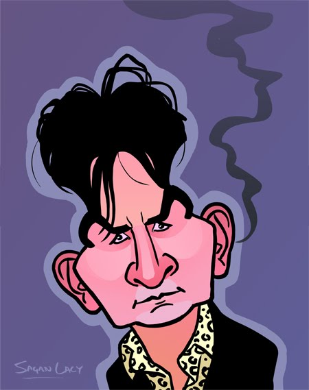 Sagan Lacy: Charlie Sheen