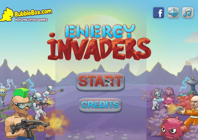 Unblocked Game : Energy Invaders